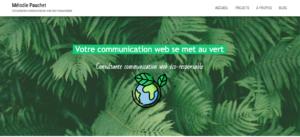 Consultant ommunication web ecoresponsable